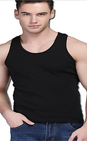 Sports Men's Sleeveless Exercise & Fitness / Leisure Sports / Badminton / Basketball / Running Vest/Gilet Breathable / Quick DryWhite /