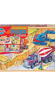 Quebra-cabeças Brinquedo Educativo / Quebra-Cabeça Blocos de construção DIY Brinquedos Quadrangular 1 Madeira Arco-Íris Hobbies de Lazer