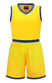 Sports Men's / Kid's Sleeveless Leisure Sports / Badminton / Basketball / Running Clothing Sets/Suits Baggy Shorts Breathable / Quick Dry
