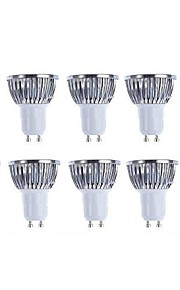 5W GU10 LED-spotpærer 4 COB 500 lm Varm hvit / Kjølig hvit Dimbar AC 220-240 / AC 110-130 V 10 stk.