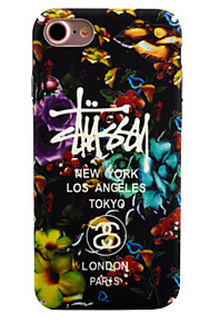 For Selvlysende / Mønster Etui Bakdeksel Etui Blomst Hard PC for Apple iPhone 7 Plus / iPhone 7 / iPhone 6s Plus/6 Plus / iPhone 6s/6
