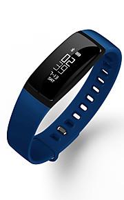 HFQ Bluetooth צמיד חכםעמיד במים / המתנה ארוכה / מד צעדים / בריאות / ספורטיבי / מוניטור קצב לב / מסך מגע / Alarm Clock / מידע / LED / עוקב