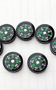 7PCS Mini Compass for Paracord Bracelet Outdoor Camping Hiking Travel Emergency Survival Tool