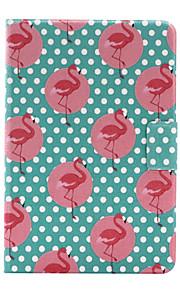 För Korthållare / Origami fodral Skal fodral Djur Hårt PU-läder för Apple iPad Mini 4 / iPad Mini 3/2/1