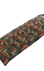 Sleeping Bag Rectangular Bag Single 10 Hollow Cotton 1000g 200X75 Camping / Traveling / IndoorWaterproof / Rain-Proof / Windproof /