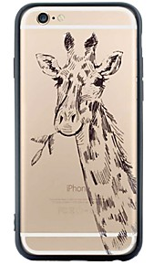 Para Diseños Funda Cubierta Trasera Funda Animal Suave Acrílico para Apple iPhone 6s Plus/6 Plus / iPhone 6s/6 / iPhone SE/5s/5