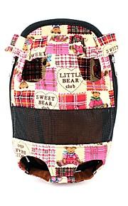 Kat / Hond voorzijde Backpack / Dog Pack Huisdieren Dragers draagbaar / Zacht / Cartoon / Bruiloft / Cosplay / Schattig / Casual/Dagelijks