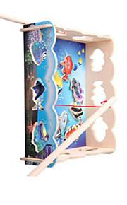 Doen alsof-spelletjes Ontspannende hobby's Noviteit Vierkant Hout Regenboog Voor jongens Voor meisjes