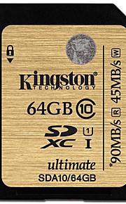 Kingston 64Gb SD Card geheugenkaart UHS-I U1 Class10 ultimate