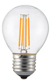 4W E14 B22 E26/E27 LED-gloeilampen G45 4 SMD 2835 400 lm Warm wit Koel wit Decoratief AC110 AC220 V 1 stuks