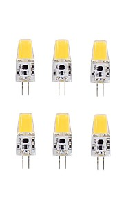2W G4 LED-kornpærer T 1 COB 220-240 lm Varm hvit V 10 stk.
