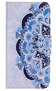 Per Porta-carte di credito / A portafoglio / Con supporto Custodia Integrale Custodia Fiore decorativo Resistente Similpelle per Google