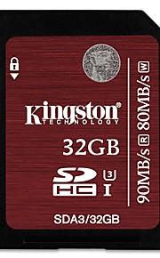 Kingston 32Gb SD Card geheugenkaart UHS-I U3 Class10