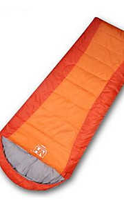 Sleeping Bag Rectangular Bag Single 10 Hollow Cotton 650g 200X75 Camping Traveling IndoorWaterproof Rain-Proof Windproof Well-ventilated