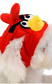 katten / honden Bandana's & Hoeden Rood Hondenkleding Winter / Lente/Herfst Cartoon Schattig