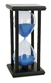 Timeglas Originalt legetøj Cylinder-formet Træ Sort Fade Brun Til drenge Til piger 5 til 7 år 8 til 13 år 14 år og op efter