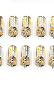 10 Pcs Trådbunden Others G4 48Led Smd2835 5W AC DC12V 950Lm Warm White Cold White Double Pin Waterproof Lamp Övrigt