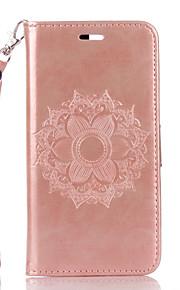 Per A portafoglio / Porta-carte di credito / Con supporto / Con chiusura magnetica / Decorazioni in rilievo / Fantasia/disegno Custodia
