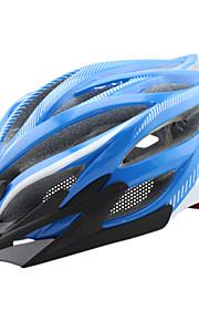 Dame / Herre / Unisex Bike Hjelm 23 Ventiler Sykling Sykling / Fjellsykling / Veisykling / Fritidssykling En størrelse PC / EPSGul / Hvit