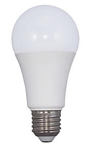 12W E26/E27 LED-globepærer A60(A19) 30 SMD 2835 980 lm Varm hvit AC 220-240 V 1 stk.