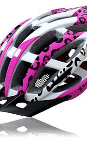 남여 공용 자전거 헬멧 N/A 통풍구 싸이클링 사이클링 산악 사이클링 도로 사이클링 레크리에이션 사이클링 원 사이즈 EPS+EPU 핑크