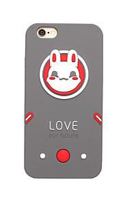 3D Love Rabbit Silicone Case for iPhone 7 7 Plus 6s 6 Plus SE 5s 5