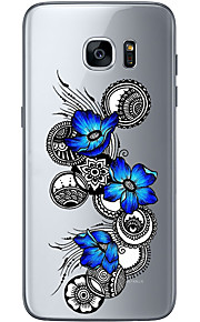 For Samsung Galaxy S6 Edge Plus S6 S7 Edge S7 Blooming flower Soft Material For Compatibility TPU