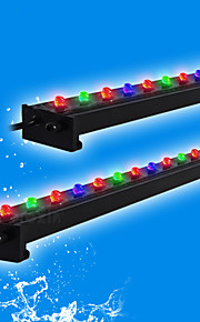 Akvarier LED-belysning Multi-farvet Energibesparende LED lampe Vekselstrøm 220-240V