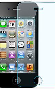 iPhone 4 / 4S用抗スクラッチ超薄型強化ガラススクリーンプロテクター