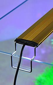 Akvaryumlar LED Aydınlatma Beyaz Mavi Ayarlanabilir LED lamba AC 220-240V