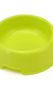 Dog Bowls & Water Bottles Feeders Pet Bowls & Feeding Portable Green Plastic