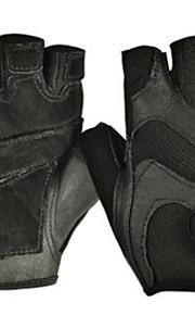 BODUN /SIDEBIKE® スポーツグローブ フリーサイズ サイクルグローブ 春 夏 秋 冬 サイクルグローブ 高通気性 耐摩耗性 耐久性 反射材 保護 フィンガーレス メッシュ サイクルグローブ ブラック ブルー フィットネス