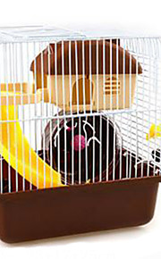 Rodents Cages Plastic Brown