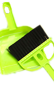 Cat Dog Health Care Cleaning Brush Pet Grooming Supplies Portable Green Plastic