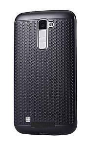 ל עמיד לאבק מגן כיסוי אחורי מגן צבע אחיד קשיח PC ל LG LG K10 LG K8 K5 LG LG G5 LG V20 LG X Power