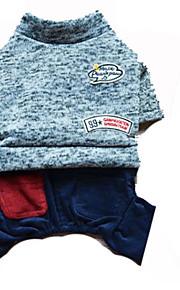 Cani Costumi Grigio Abbigliamento per cani Inverno Formale Divertente