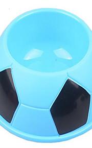 Katze Hund Schalen & Wasser Flaschen Haustiere Schüsseln & Füttern Tragbar Klappbar weiß blau rosa Silikon