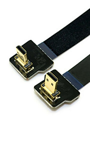 Cy® HDMI Micro-HDMI Micro vergoldet Kabel 1080P 0,5m (1.5ft)