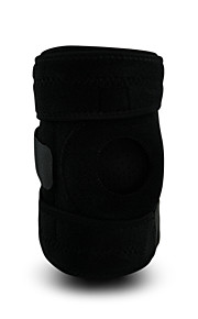 Unisex Knee Brace Breathable Stretchy Protective Football Sports Outdoor Nylon Black