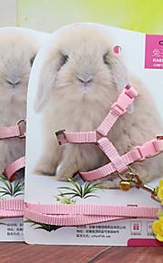 Kaniner Hundebånd Justerbar passform Fabric Tilfældig Farve