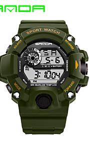 Masculino Relógio Esportivo Relógio Militar Relógio Inteligente Relógio de Moda Relógio de Pulso Digital Quartzo JaponêsLED Calendário
