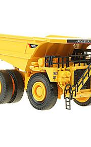 Véhicule de Construction Jouets Jouets de voiture 1:74 Métal ABS Jaune Maquette & Jeu de Construction