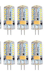 5W G4 2-pins LED-lampen T 57 SMD 3014 300 lm Warm wit Koel wit Dimbaar AC 12 V 10 stuks
