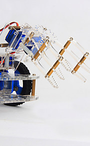 Crab Kingdom 4 DOF Three-dimensional Rotating Mechanical Arm 99 Robot DIY Teaching Kit structure