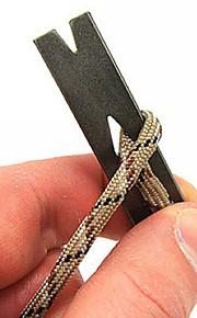 EDC Pocket Mini Pocket Edition Stainless steel Crowbar Crank Scraper Winder Staple keychain bicycle tire tool equipment 1PC