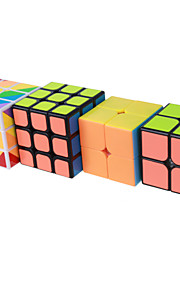 Yongjun® Smooth Speed Cube 2*2*2 3*3*3 Professional Level Magic Cube Smooth Sticker Anti-pop Adjustable spring ABS