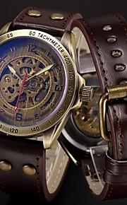 Masculino Infantil Relógio Esportivo Relógio Militar Relógio Elegante Relógio Esqueleto Relógio de Moda Relógio de Pulso relógio mecânico