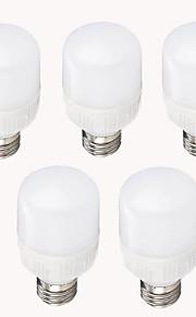 12W E26/E27 LED-kornpærer T 12 SMD 2835 1200 lm Varm hvit Kjølig hvit Dekorativ AC 220-240 V 5 stk.