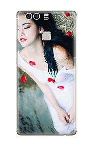 Für Muster Hülle Rückseitenabdeckung Hülle Sexy Lady Weich TPU für Huawei Huawei P9 Huawei P9 Lite Huawei P9 plus Huawei P8 Huawei P8 Lite