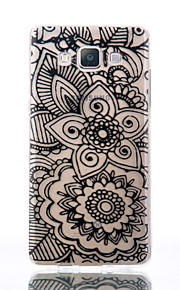 For Samsung Galaxy A510 A5 A310 A3 TPU Material Flowers Patterns Relief Phone Case